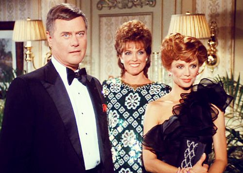 Dallas JR Sue Ellen and Pamela