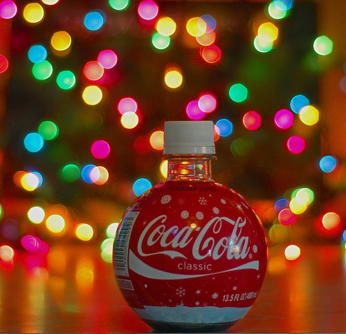 Coca-Cola and Christmas. They just go together.