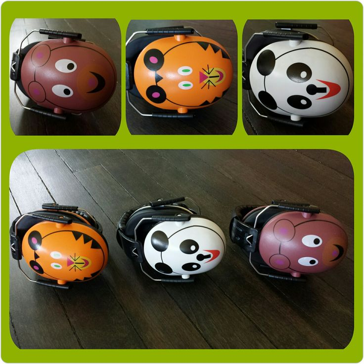 Noise Reduction Headphones - Tiger, Panda Hearing Protector Designed for your children with noise sensitivity, they're comfortable & user-friendly. Just pop them on and they go to work! A terrific tool for children who need quiet for sensitivity or for focused activities. Autism headphones designed for kids ears!  Features: Noise Reduction Rating of 26db, Rugged Polypropylene Adjustable, Headstrap fits children, Earpad is PVC rubber/leatherette, Easy to clean, Meets EN352.1 and ANSI S3.19