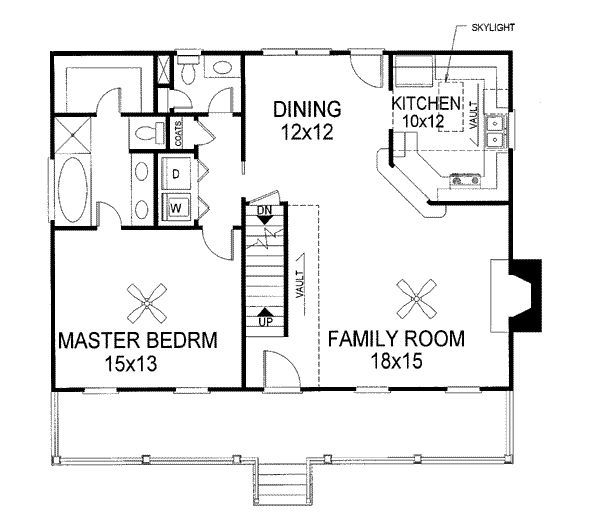Image Result For Floor Plan For Cape With Front To Back First Floor Master Bedroom Cape House Plans Country Style House Plans Remodel Bedroom