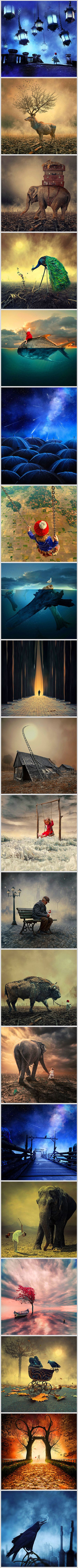 20 Mind-Bending Photo Manipulations That Blend Fantasy with Reality - TechEBlog