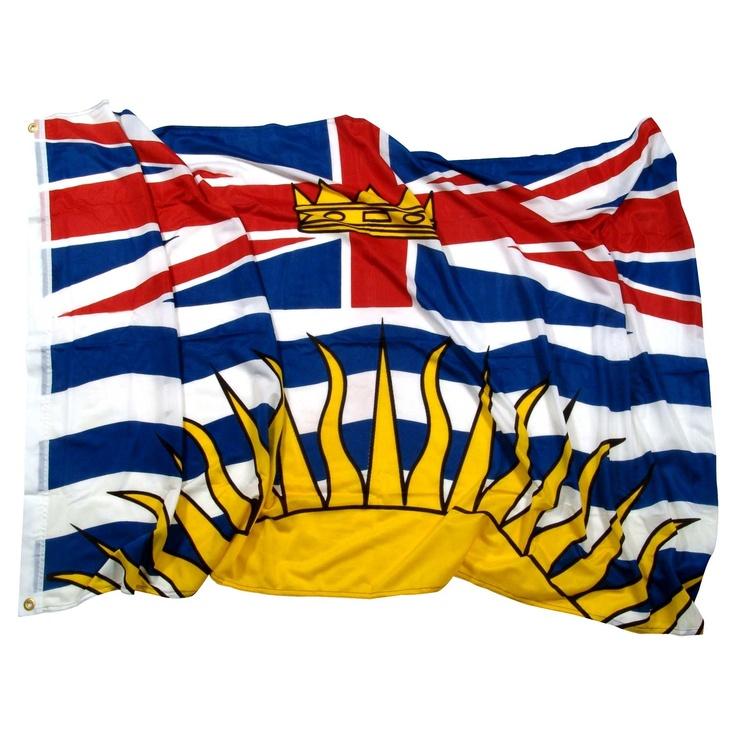 British columbia canada flag canadian pinterest for British columbia flag coloring page