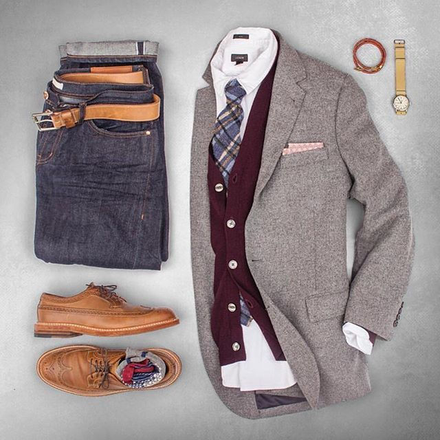 Autumn date night look from @matthewgraber discovered @shopthatgrid smart casual perfection