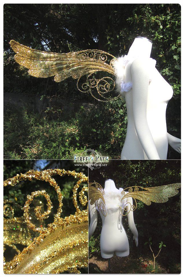 beautiful fairy wings, a way to make more intricate deigns