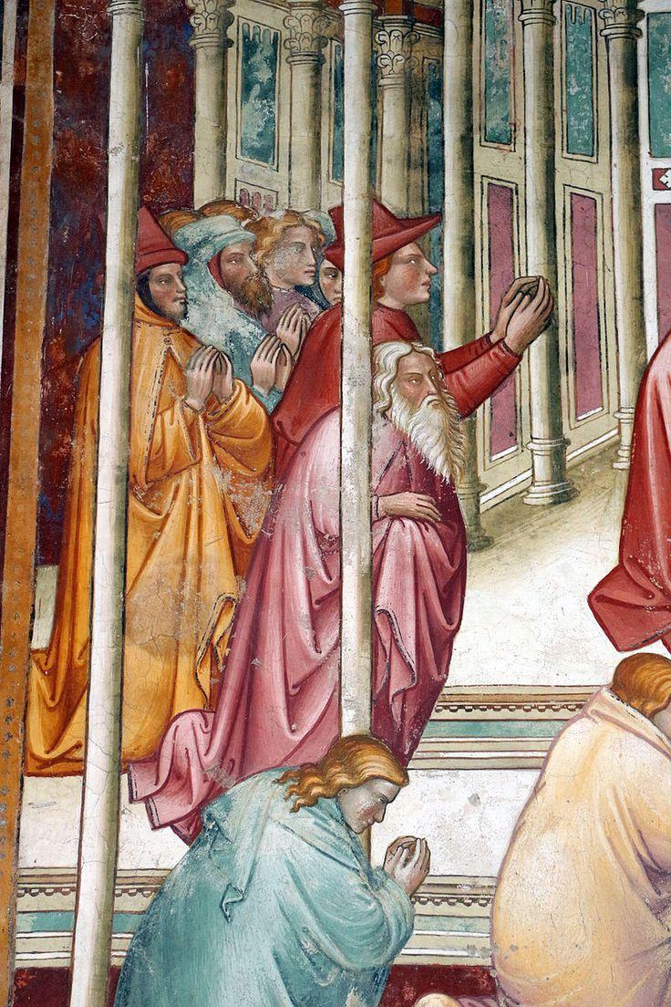 Cenni di francesco, cappella della croce di giorno, 1410, cosroè si fa adorare e visione di eraclio 03.JPG