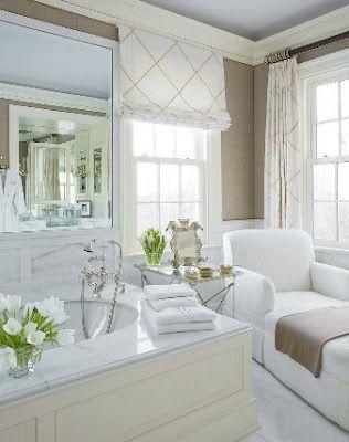 A Very Pretty Neutral Bathroom. Dream BathroomsBeautiful ...