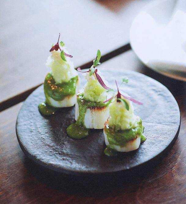 Crown Street Cooks - Toko's Scallops with Jalapeno Sauce by Billy Kwong & Bill Granger