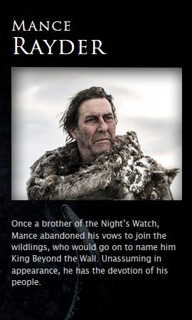 Mance Rayder - game-of-thrones Photo
