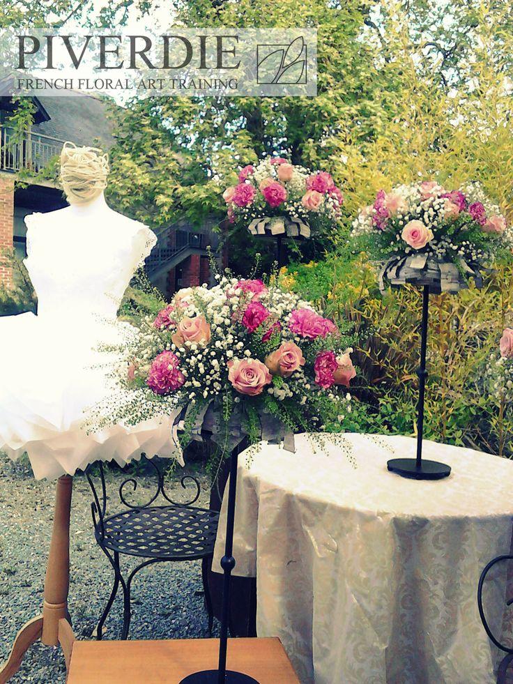 EVENT DECORATION TRAINING PIVERDIE FRANCE #eventdecoration #formation #fleurs