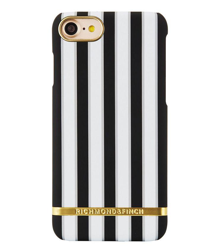 Richmond & Finch Satin Stripes Cover for iPhone 6 (S) - Sharkskin | eBay