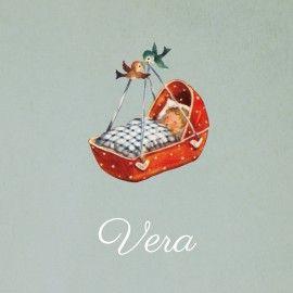 geboortekaartje Vera
