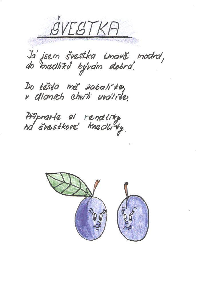 Obrázky k básničkám | Předškoláci.cz - omalovánky, pracovní listy
