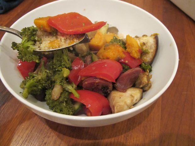 Simple Roasted Vegetable Medley with SausageSimple Roasted, Healthy Foods Drinks, Vegetables Recipe, Vegetables Medley, Art, Roasted Vegetables, Healthy Foodsdrink, Roasted Veggies