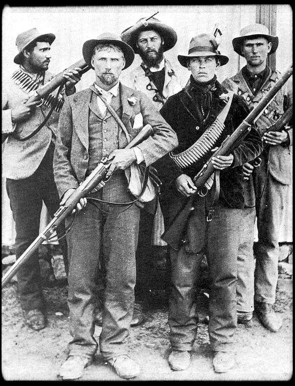 The Anglo-Boer War Of 1899…