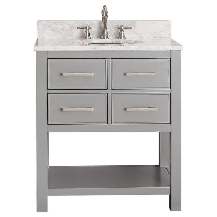 Best 25 30 Inch Vanity Ideas On Pinterest  30 Inch Bathroom Alluring 30 Bathroom Vanity With Drawers Decorating Inspiration