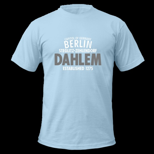T-Shirt 'Capitol Of Germany Berlin – Dahlem' http://sixnineline.spreadshirt.de/customize/product/105484276/sb/l/view/1