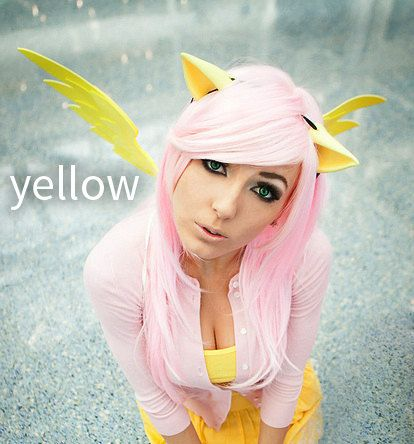 fantasy My Little Pony ears & Pegasus Angel Wings Set (MLP, cosplay, halloween, party, convention, fun) by yayahan on etsy