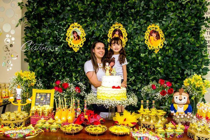 A Bela e a Fera – 4 anos da Milena – Inspire sua Festa ®