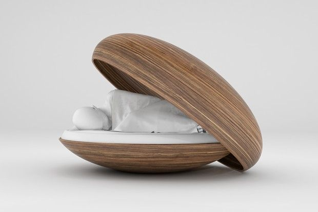 capsule of memories.                                    .A friend's near death experience was the impetus for designer Diddo's re-imagining of the humble coffin.  Project Womb comprises of a new type of cocoon-like coffin