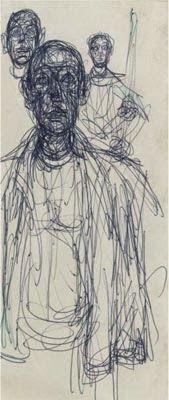 Alberto Giacometti drawings