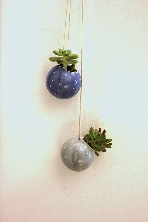 Ceramic Sphere planters