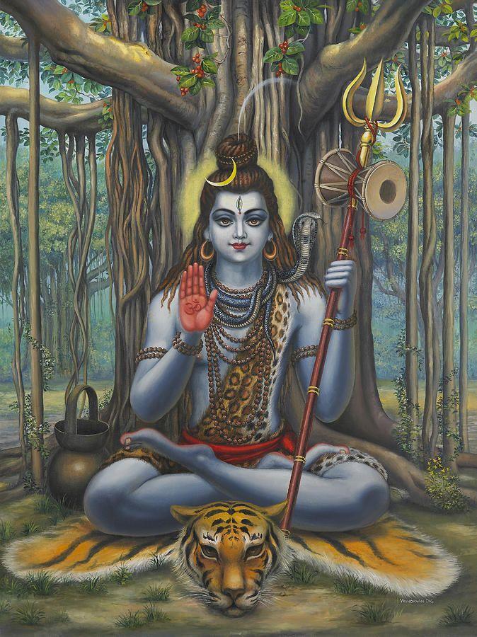 Shiva http://fineartamerica.com/featured/lakshmi-vrindavan-das.html