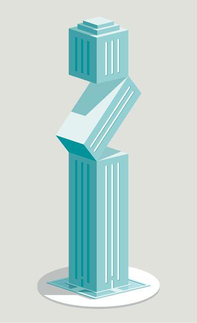 Mr. W's Skyscraper Catalog, a NeonMob Collection on Behance