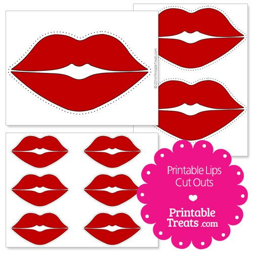 Free Lips Coloring Pages, Download Free Clip Art, Free ...