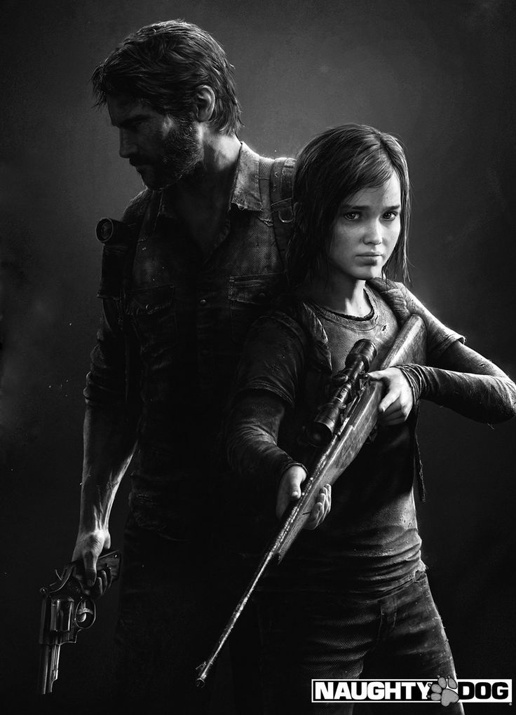 Joel and Ellie - The Last of Us