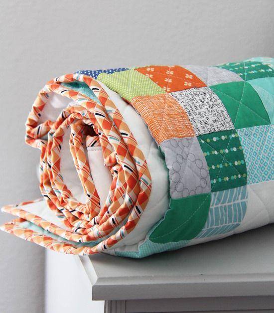 Chippewa Scrap Quilt + Tutorial