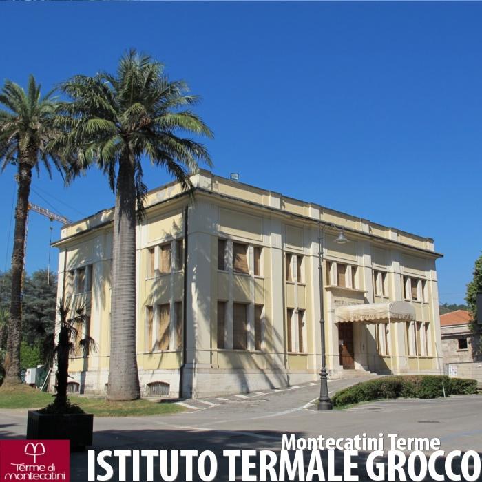 L'Istituto Termale Grocco di Montecatini Terme.