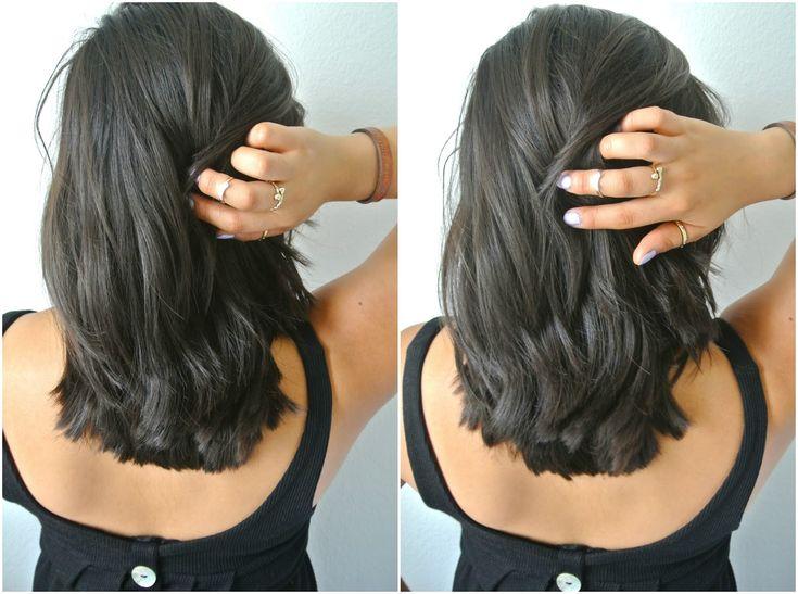 Long Inverted Bob Haircuts Back View Alternative Hair