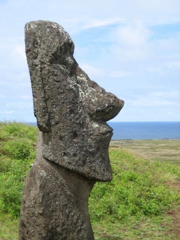 Moai Isola di Pasqua (Cile)