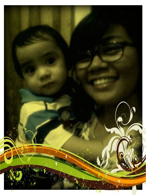 with Ryan 1st Year Bday