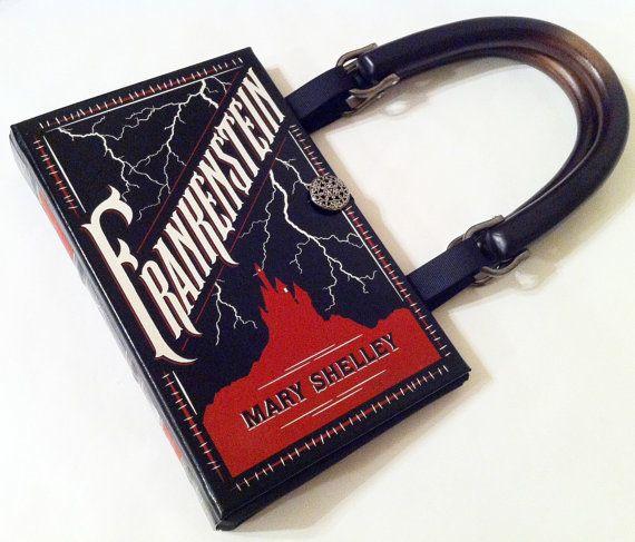 repurposed books into purses
