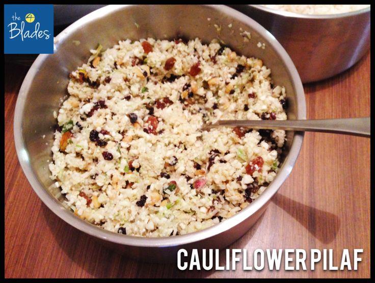 Cauliflower Pilaf Thermomix Recipe