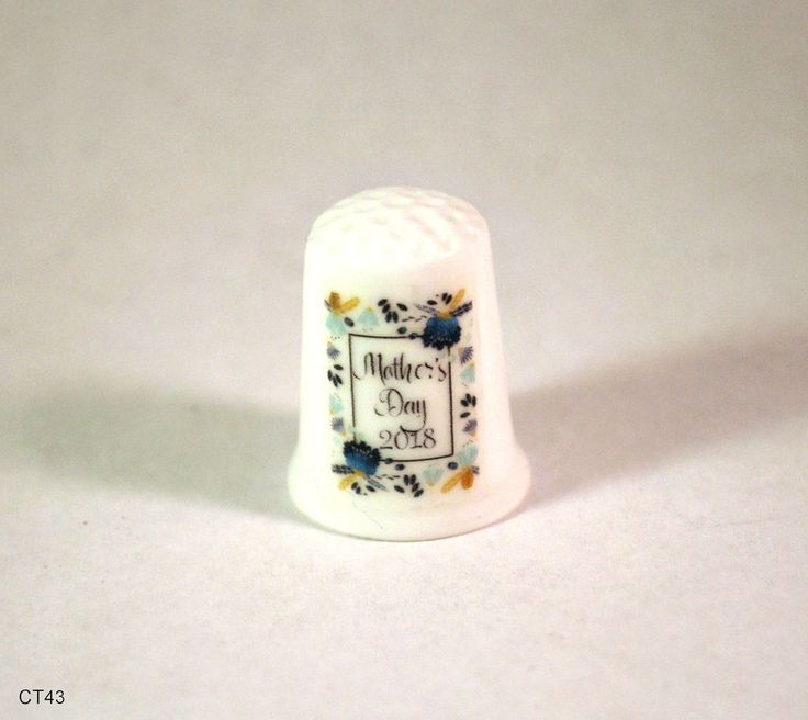 Mothers Day Thimble, Mothers Day 2018 Collectible Thimble, Collectible Thimbles, Handmade Thimbles, Thimble Collection