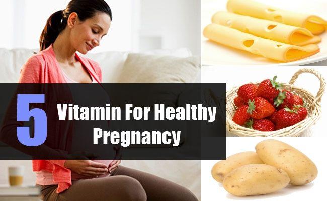 Vitamin For Healthy Pregnancy