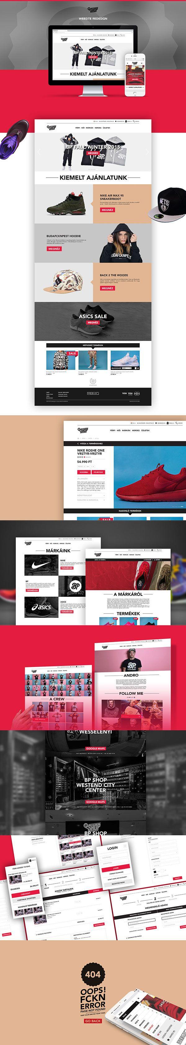 BP Shop website #webdesign #website #ui #ux #userinterface #userexperience #sitedesign