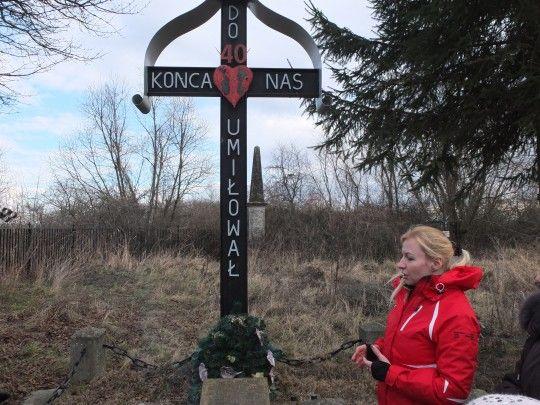 Ukraińcy z Rumna pomogą porządkować cmentarz, na którym spoczywają Polacy zamordowani tutaj w 1944 roku, podczas napadu Ukraińców na tę miejscowość.