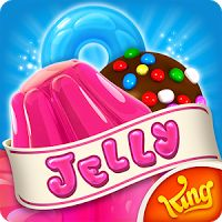 Candy Crush Jelly Saga 1.45.3 MOD APK Unlimited Health  games puzzle