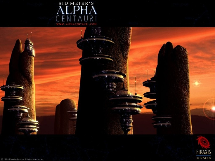 """""""Sid Meier's Alpha Centauri"""" by Firaxis Games. My favorite game of all time."""