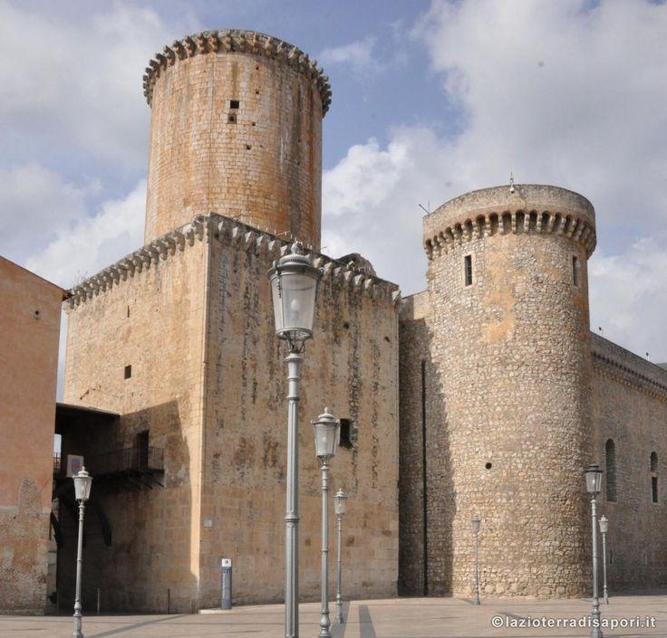Fondi. Castello Baronale. Fondi. Castle.