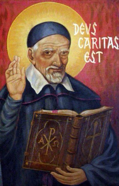 SAN VICENTE DE PAUL #saints #LegionofMary #rosary