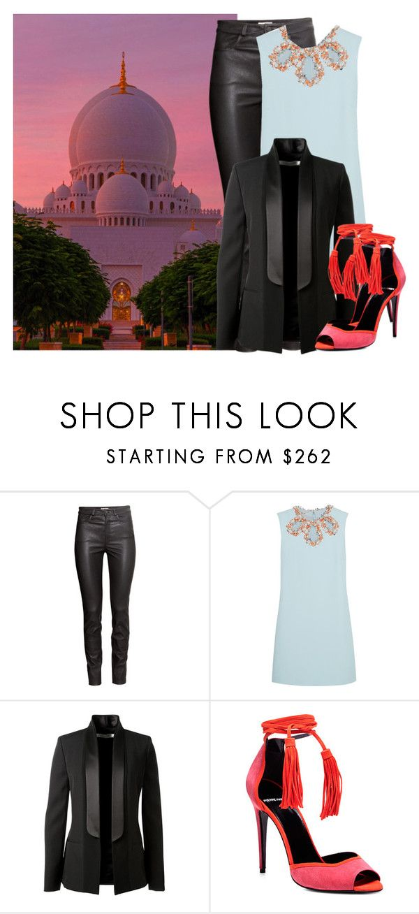 """""""Ramadan 2017: Days 1-11"""" by professorlino ❤ liked on Polyvore featuring H&M, Miu Miu, Victoria Beckham and Pierre Hardy"""