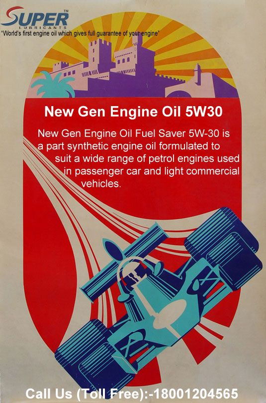 #NewGenEngineOil5W30 New Gen Engine Oil Fuel Saver 5W-30 is a part synthetic engine oil formulated to suit a wide range of petrol engines used in passenger car and light commercial vehicles.For more details visit at:https://goo.gl/gvusKo