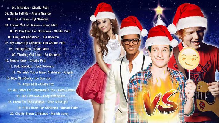 Bruno Mars,Charlie Puth,Ed Sheeran Best Christmas Songs,Greatest Hits Po...