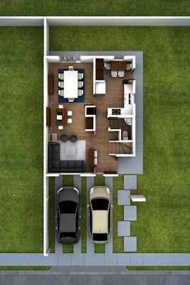 Best 25 plantas arquitectonicas ideas on pinterest for Modelos de departamentos