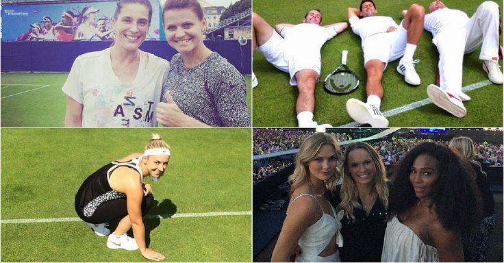 Es ist wieder Wimbledon-Zeit und die Stars des Tennis tummeln sich auch in den sozialen Netzwerken. Mit Helikopter, Fußball oder Konzerten - so bereiten sich die Spieler auf das älteste und größte Turnier der Welt vor.
