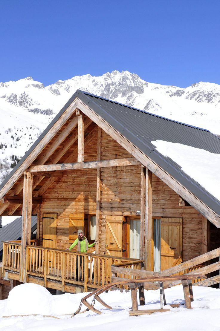 La résidence Goélia 3*** Le Village Gaulois à St François Longchamp - Exemple de chalets individuels
